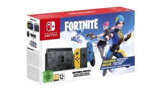 Nintendo annonce une édition Fortnite de sa Switch