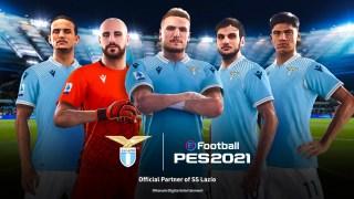 Konami signe avec la Lazio Rome pour eFootball PES 2021 Season Update