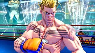 Luke sera le dernier combattant de Street Fighter V