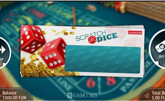 How to Play Scratch Dice Online