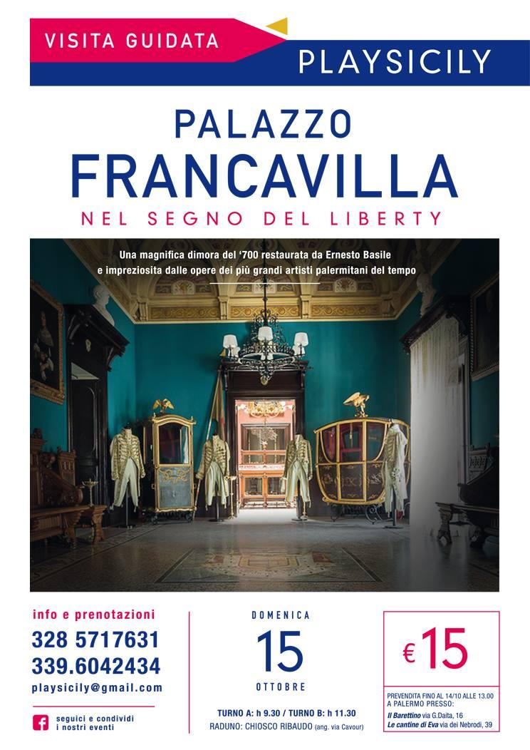 locandina palazzo francavilla
