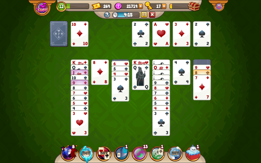 Solitaire And Prizes