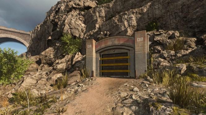 Warzone bunkr u vězení
