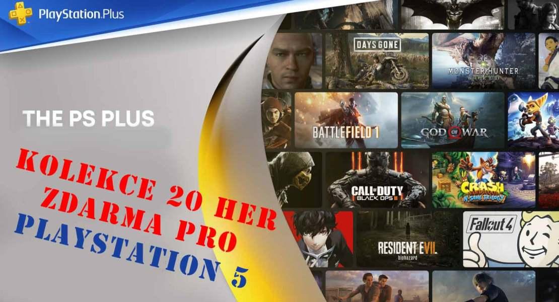 PlayStation 5 hry zdarma