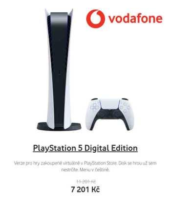 PlayStation 5 nejlevnější cena