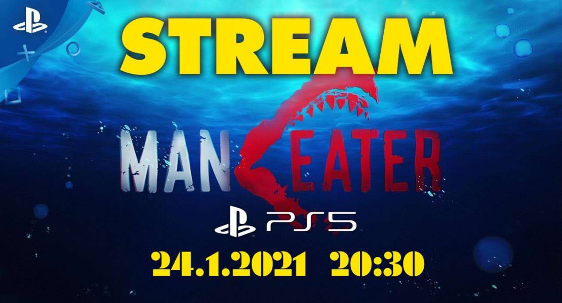 Game play Maneater strem