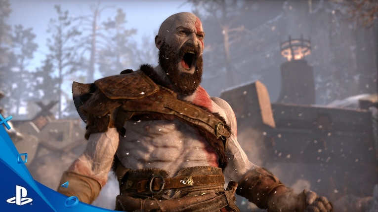 Sony toont gameplaytrailer God of War