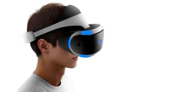 PlayStation VR games headset