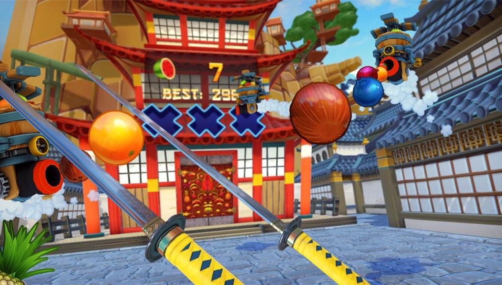 Fruit Ninja VR PS VR game