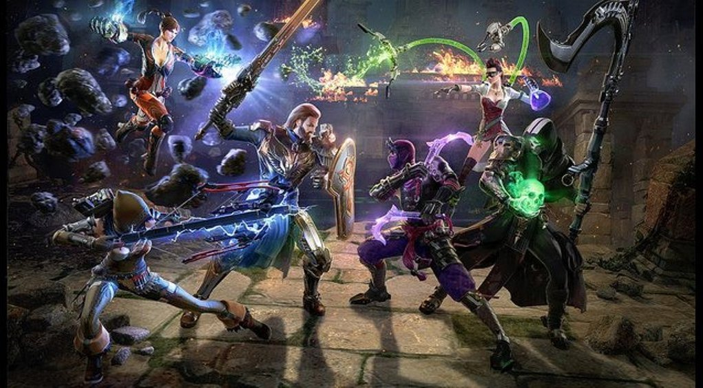 Skyforge free to play PS4 game