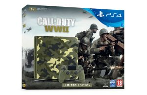 Limited Edition Call of Duty: WWII PS4 bundle