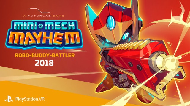 Mini-Mech Mayhem PS VR
