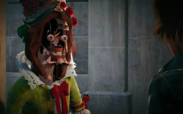 dipinto Assassin's Creed Unity riprodotto realtà
