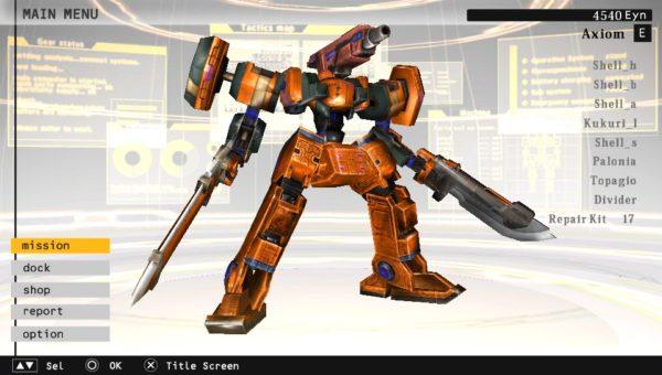 damascus gear psvita robot