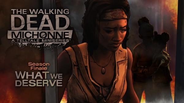 The Walking Dead Michonne Episodio 3