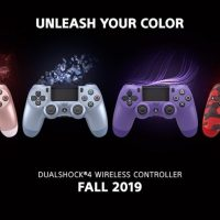 Sony annuncia nuove colorazioni per il Dualshock 4