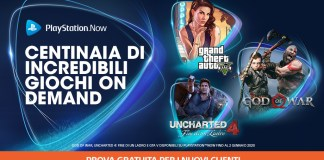 playstation now uncharted 4 grand theft auto v god of war