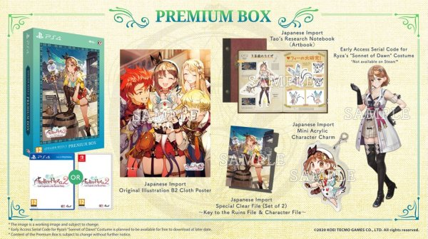 atelier ryza 2 collector's edition