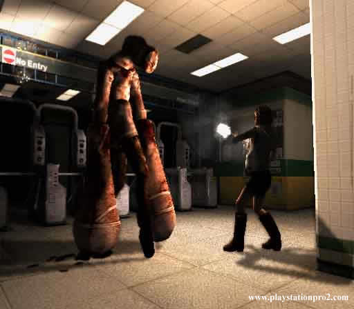 I've beaten Silent Hill 3. I don't know how, but I did it.