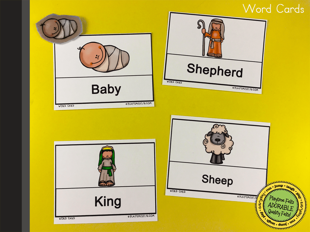 Birth Of Jesus Pre K Worksheets For Sunday School