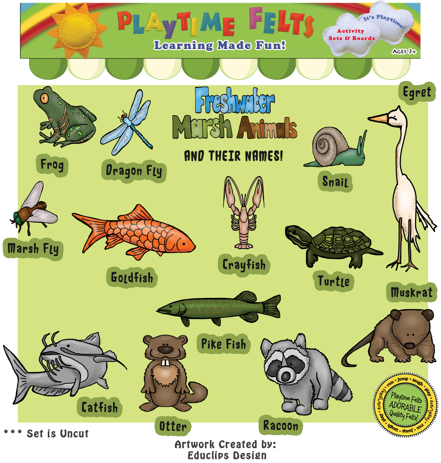 Freshwater Animals For Kids