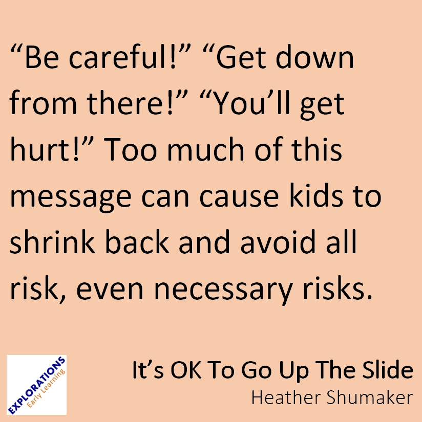 Its Ok To Go Up The Slide Quote 1888 Playvolution Hq