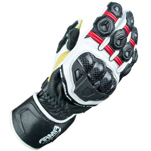 Armr Moto S470 Motorcycle Gloves Black/Red