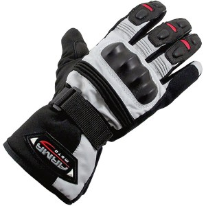 Armr Moto WP525 Motorcycle Gloves Grey