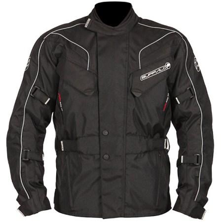 Buffalo Hurricane Motorcycle Jacket Black