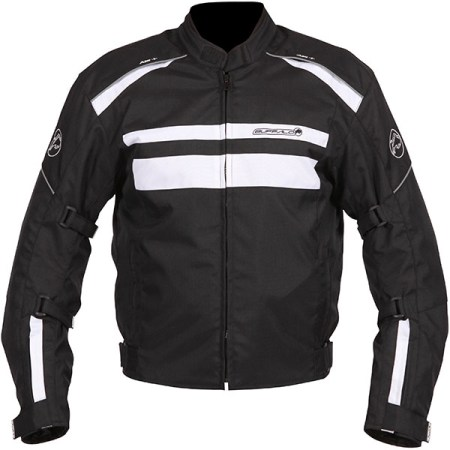 Buffalo Modena Motorcycle Jacket Black