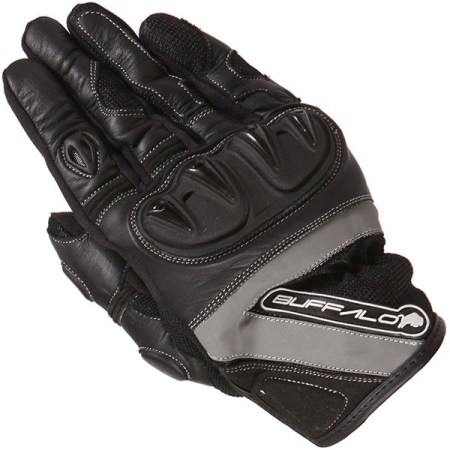 Buffalo Radar Motorcycle Gloves Black