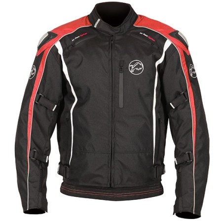 Buffalo Spyker Motorcycle Jacket Black/Red