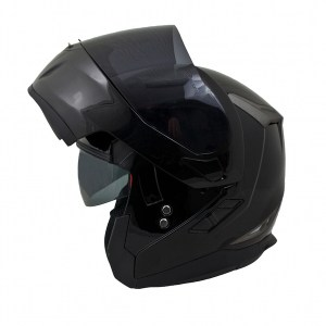 MT Flux Motorcycle Helmet Gloss Black
