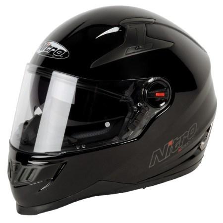 Nitro N2200 Uno Motorcycle Helmet Gloss Black