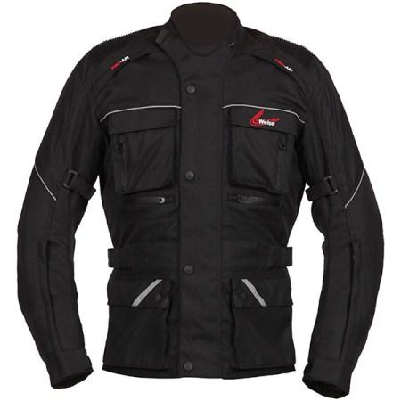 Weise Zurich Motorcycle Jacket Black