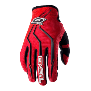 ONeal Element Motocross Gloves Red