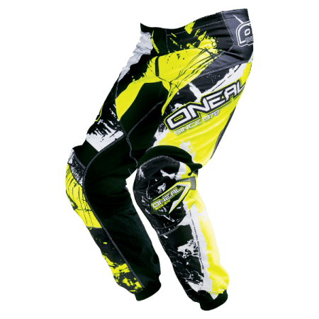 ONeal Element Shocker Motocross Pants - Yellow