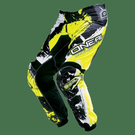ONeal Element Shocker Motocross Pants Yellow