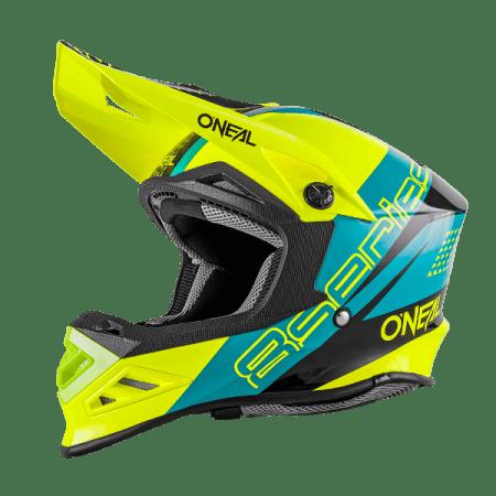 Oneal 8 Series Nano Motocross Helmet Blue