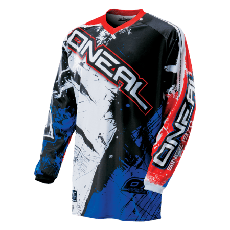 ONeal Element Shocker Motocross Jersey - Blue