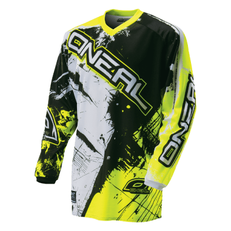 ONeal Element Shocker Motocross Jersey - Yellow