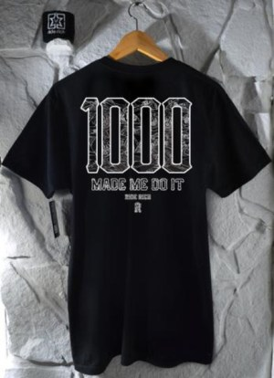 Ride Rich The 1000 Club T Shirt