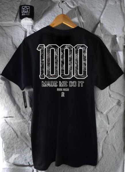Ride Rich The 1000 Club T Shirt