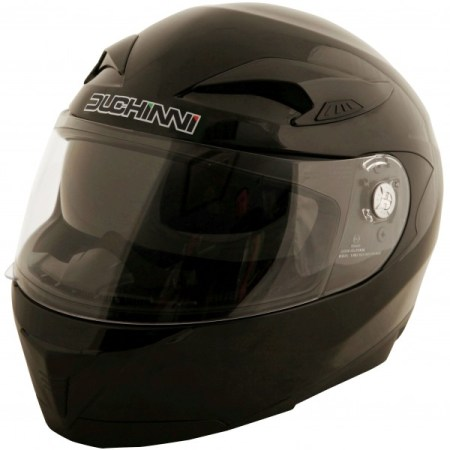 Duchinni D405 DVS Motorcycle Helmet Black