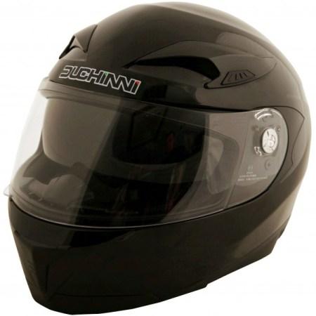 Duchinni D405 DVS Motorcycle Helmet - Black