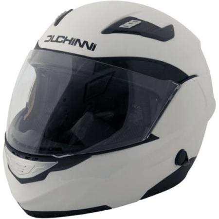 Duchinni D605 Flip Front Motorcycle Helmet White
