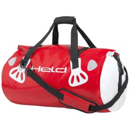 Held Waterproof Motorcycle Carry Roll Bag Red