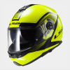 LS2 FF325 Strobe Civik Motorcycle Helmet Yellow