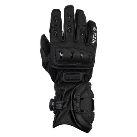 Knox Nexos Motorcycle Gloves - Black