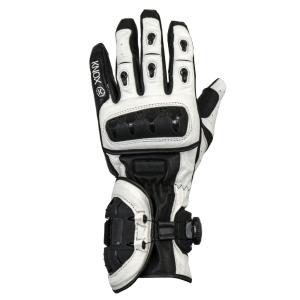Knox Nexos Motorcycle Gloves White